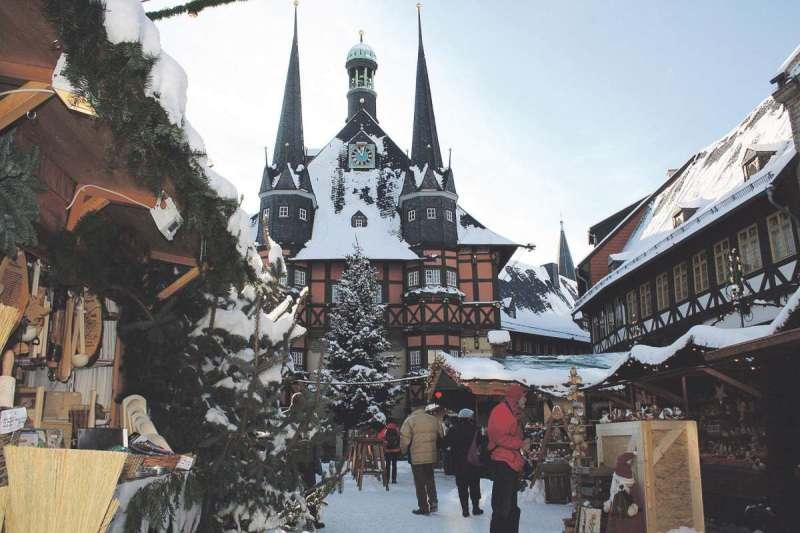 Wernigerode Weihnachtsmarkt.Weihnachtsmarkt In Wernigerode Magdeburg Kompakt